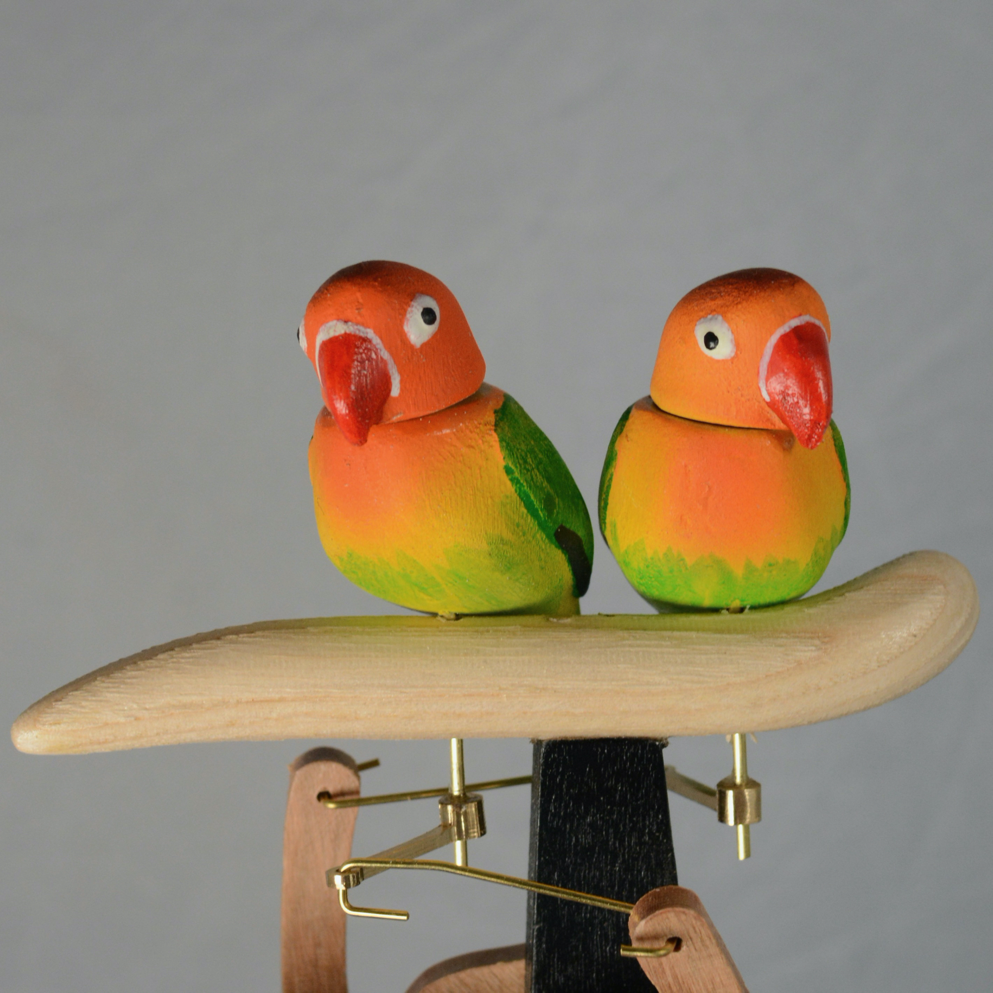 Lovebirds automaton